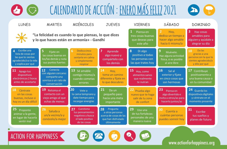 kindness Calendar 2021