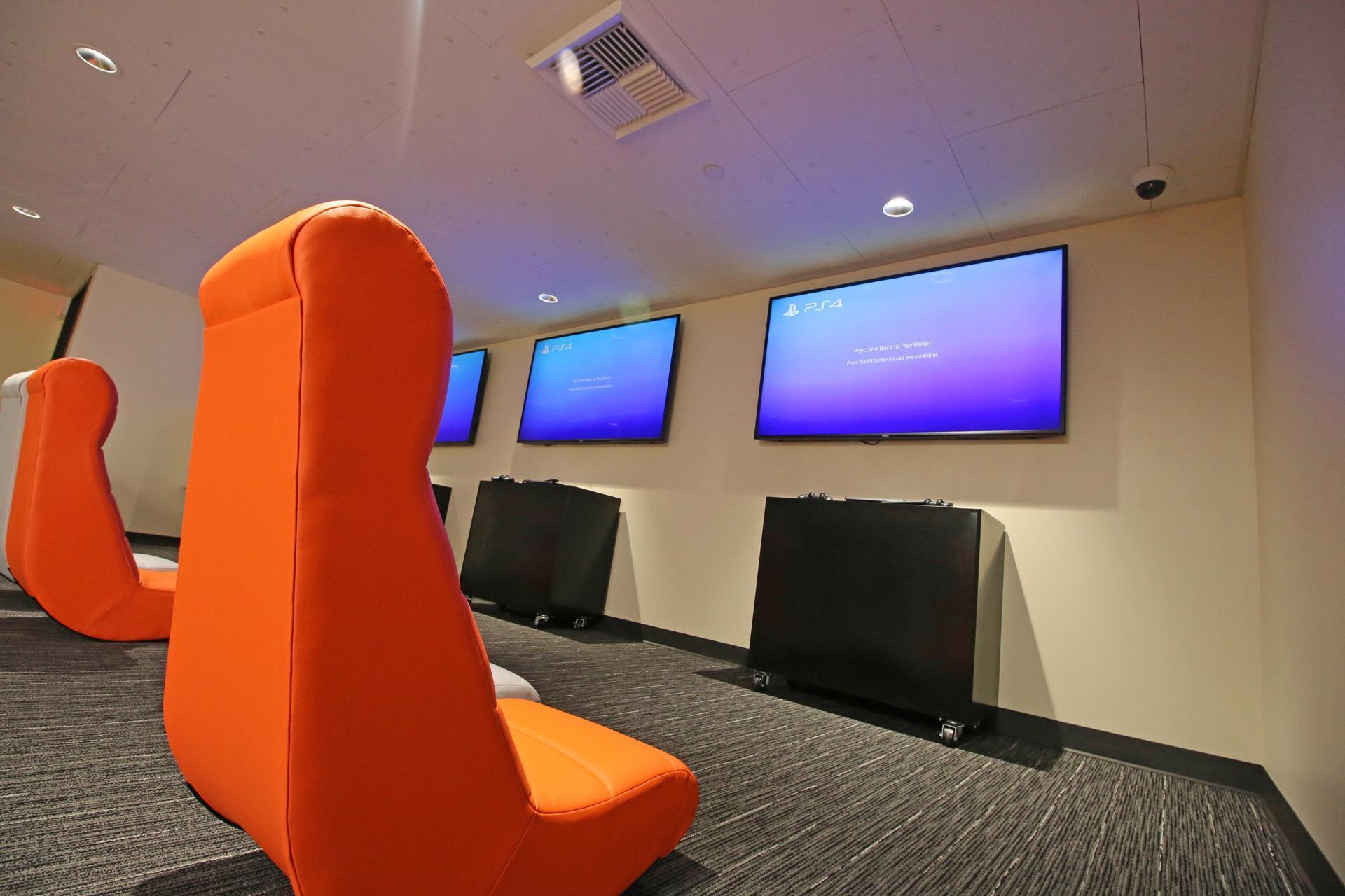 e-gaming lounge