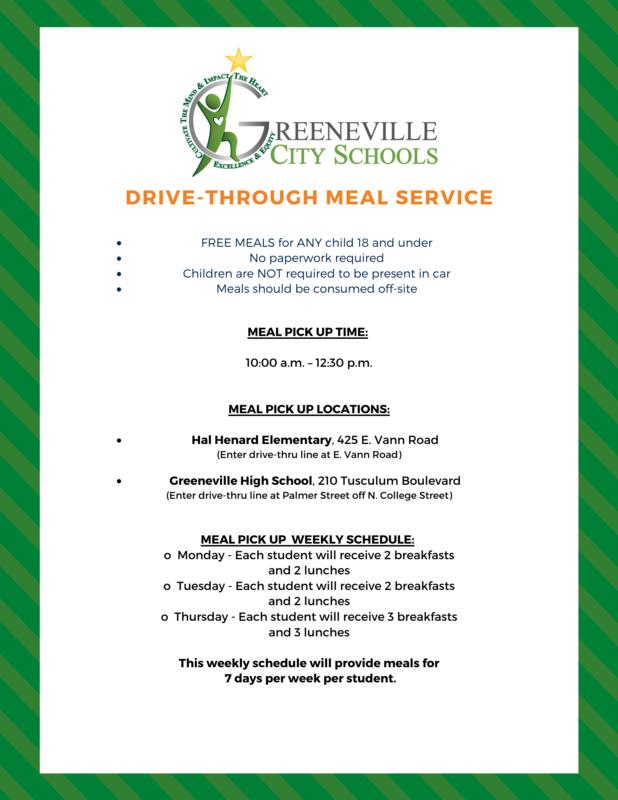 meal flyer