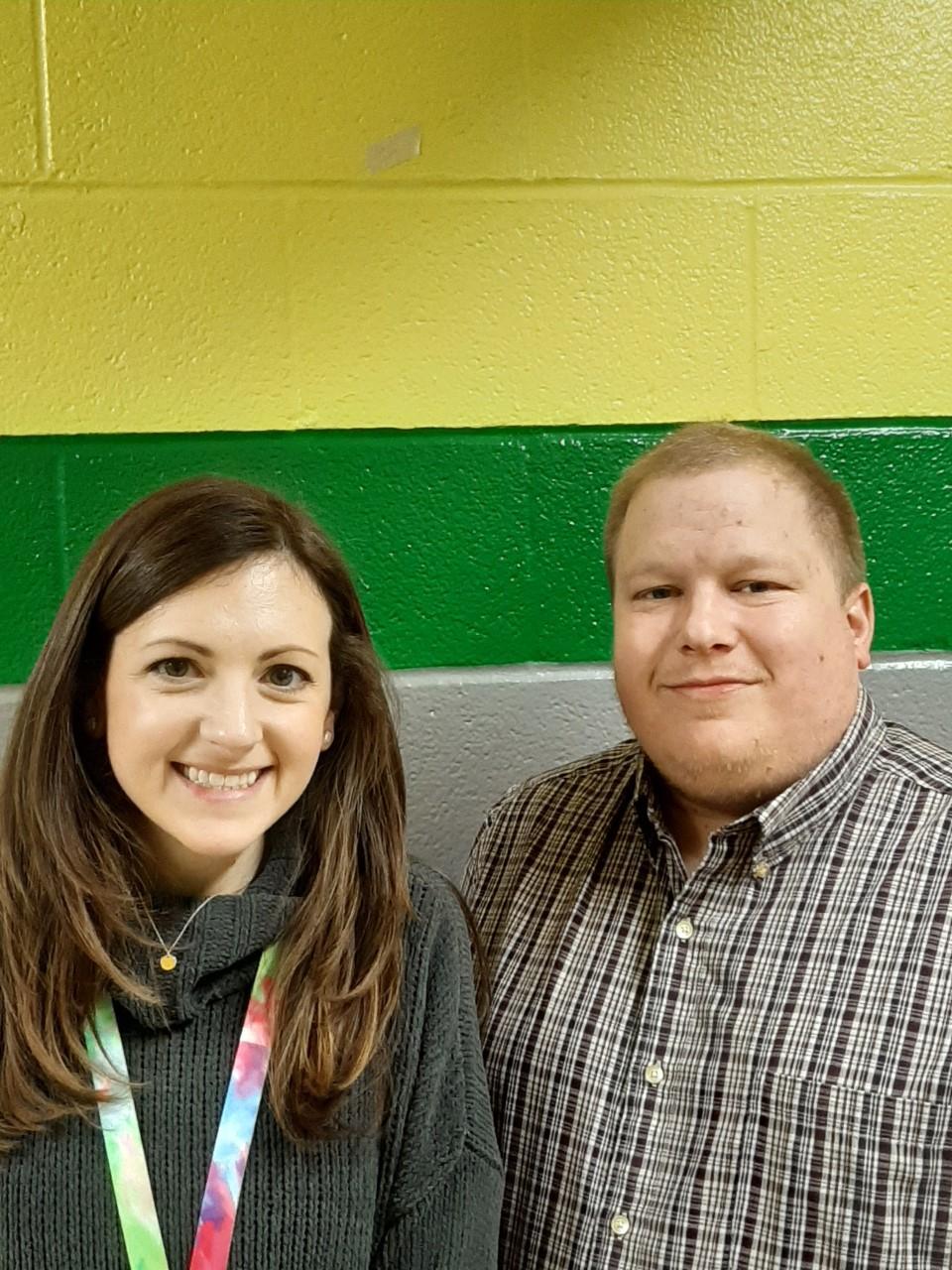 Mrs. Jennifer Lynch and Mr. B