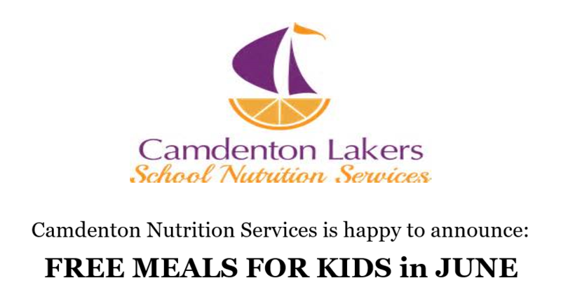 Free Meals for Kids in June Featured Photo