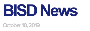 BISD News 10/10/19