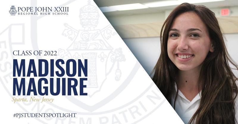 Madison Maguire PJ Student Spotlight
