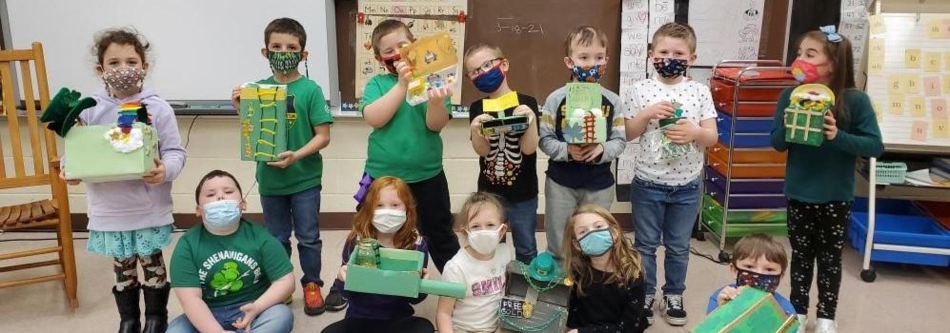Kindergarten Leprechaun traps