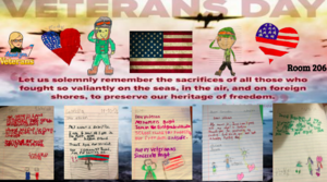 Room 206 letters to veterans