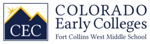 CEC Fort Collins West Middle School Logo