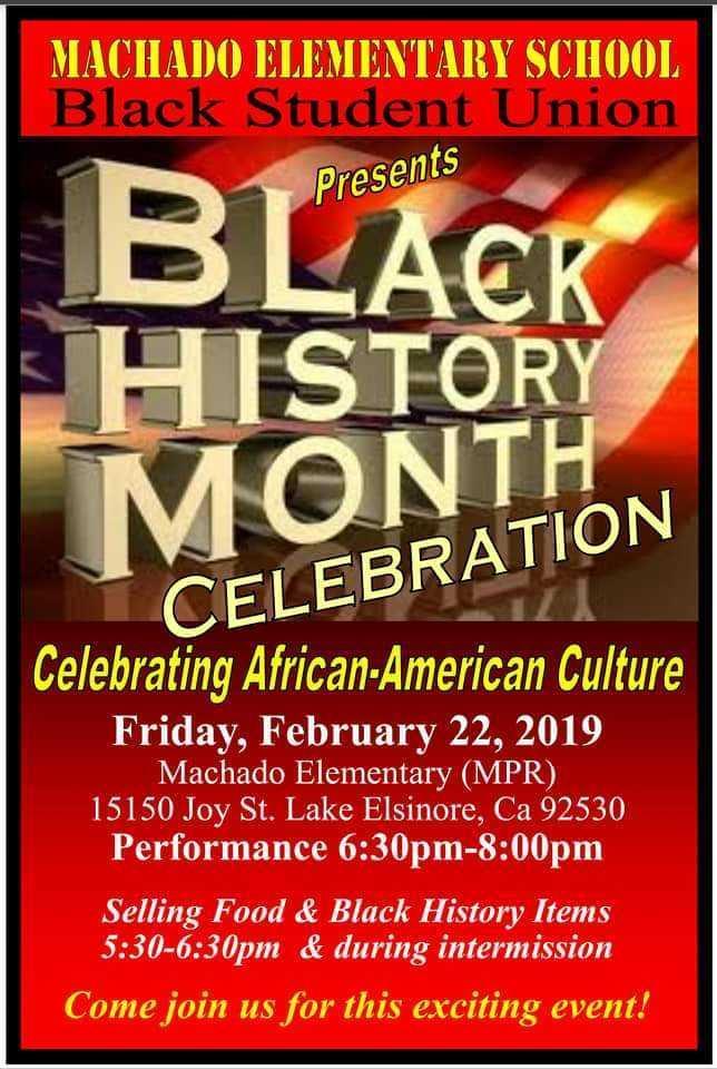 BLACK HISTORY PROGRAM 2018