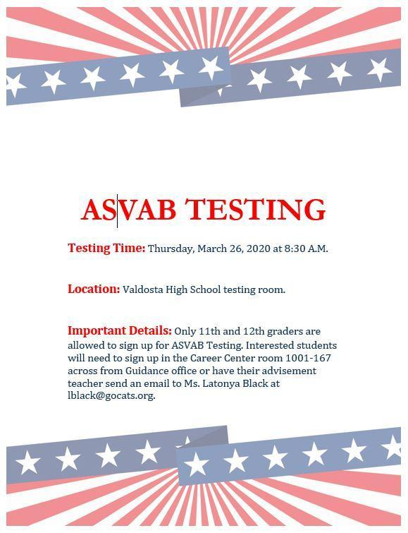 ASVAB March 2020