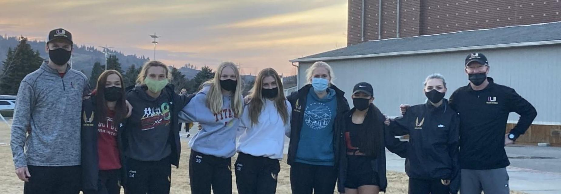 Girls cross country team photo