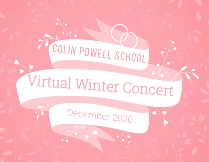 Virtual concert title sequence