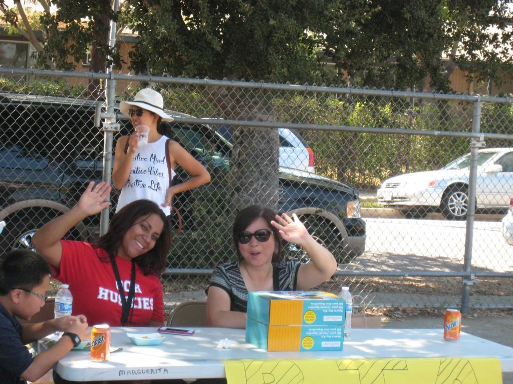 PTA members during the PTA/ASB Community Building Picnic