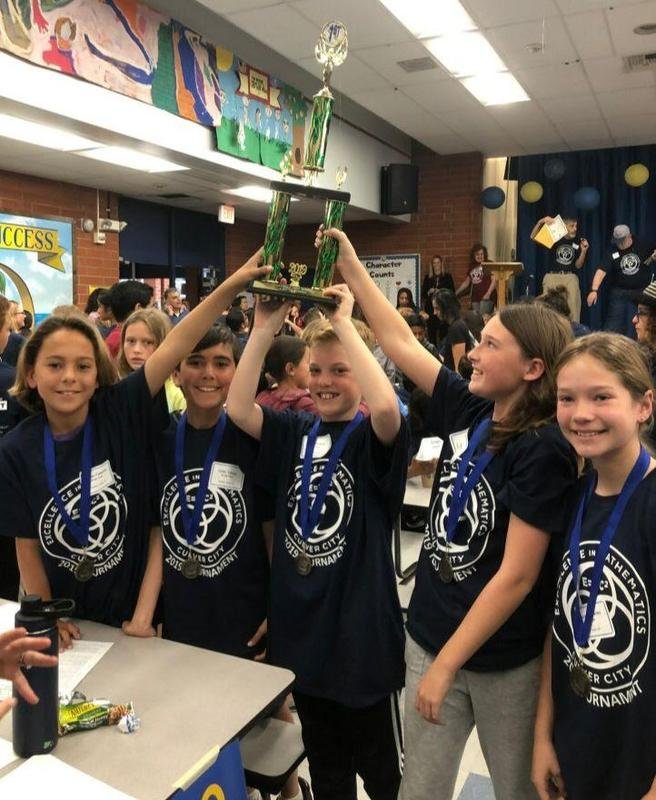 Congratulations to Gator Mathletes for First Place Win! Thumbnail Image