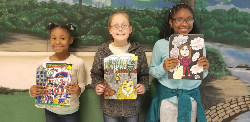 Students Win Drawing Contest Featured Photo