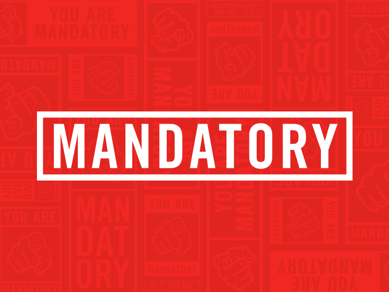 Mandatory Graphic