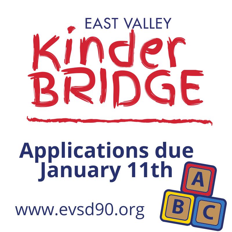 Kinder BRIDGE with blocks