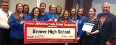 WSISD is among only 13 Texas school districts to be recognized as a Project ADAM School District. The WSISD nurses were recognized for all their efforts to earn the distinction during the March 25 school board meeting. Every WSISD school was named a Project ADAM Safe School.