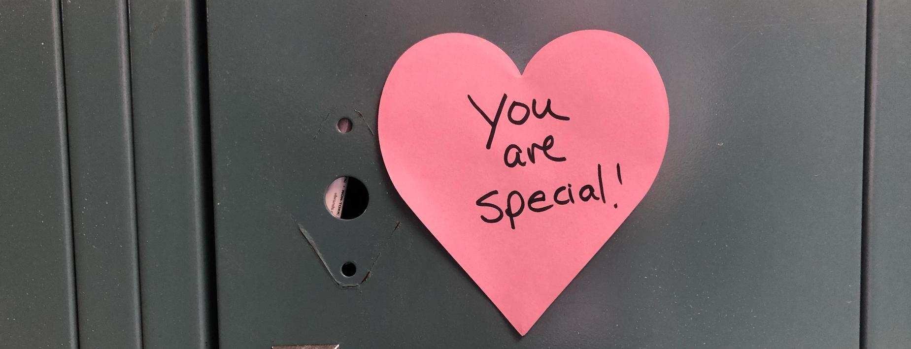 You are special heart