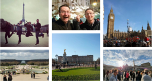 Europe Trip Collage