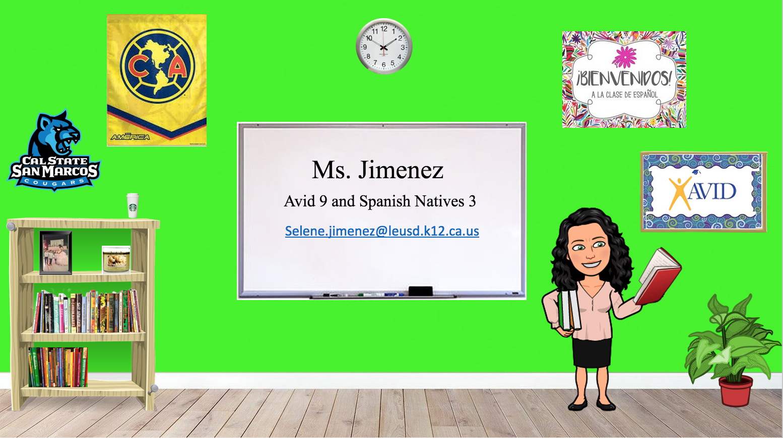 Ms. Jimenez Classroom