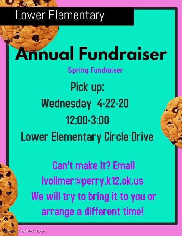 lower elementary fundraiser pickup