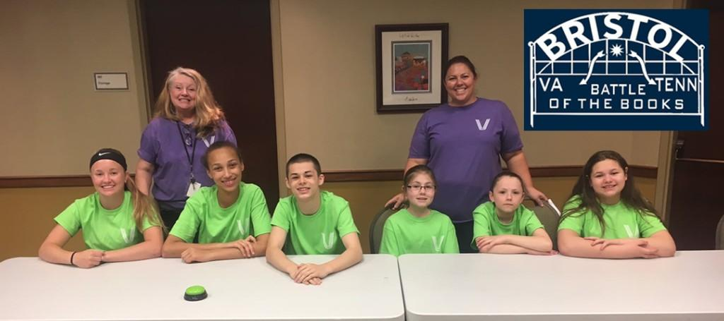 Virginia Middle School students Battle of the Books vs. Vance Middle School