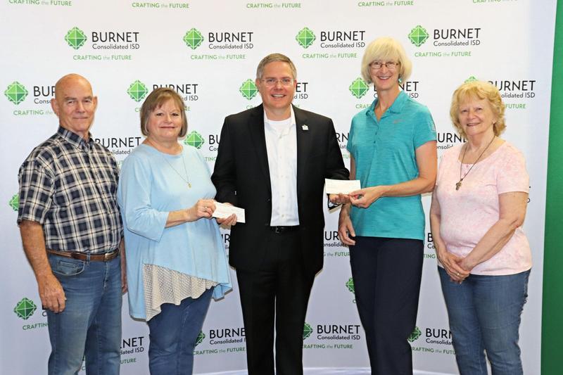 Burnet Association of Merchants Makes Donation Thumbnail Image