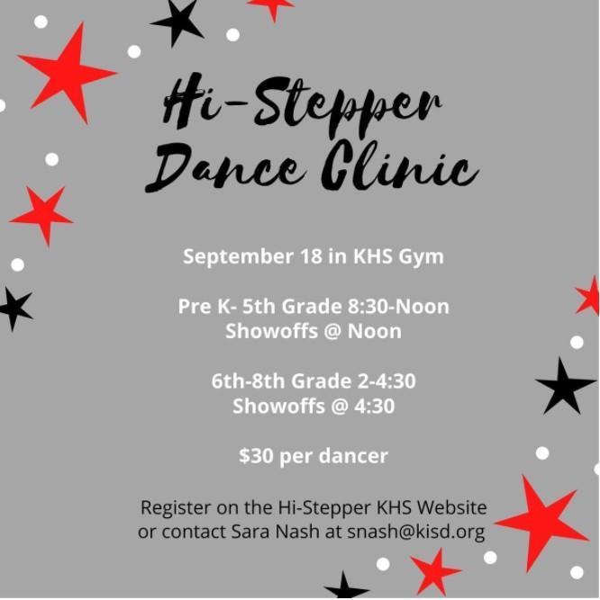 Hi-Stepper Dance Clinic Featured Photo