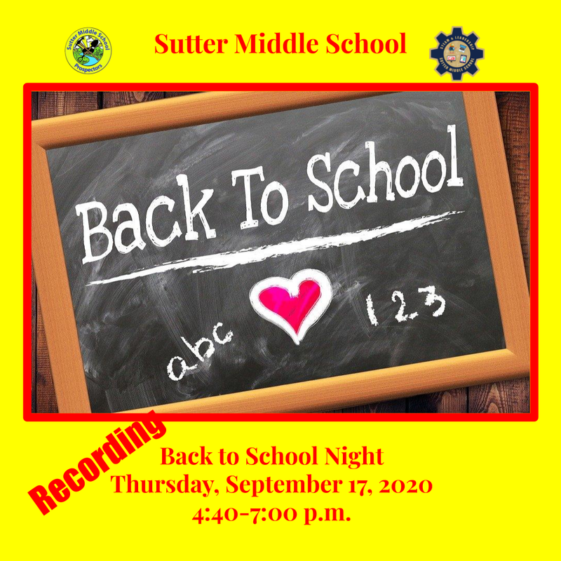 Back to School Night Webinar Recording and Presentation Featured Photo