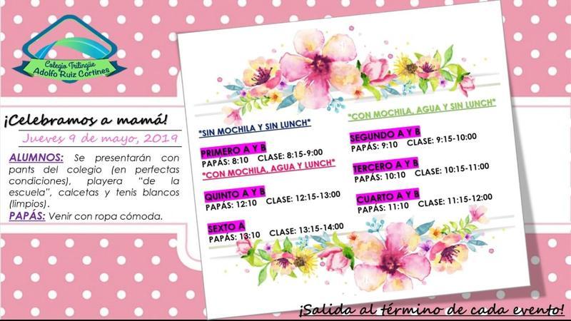Invitación día de las madres Primaria Featured Photo