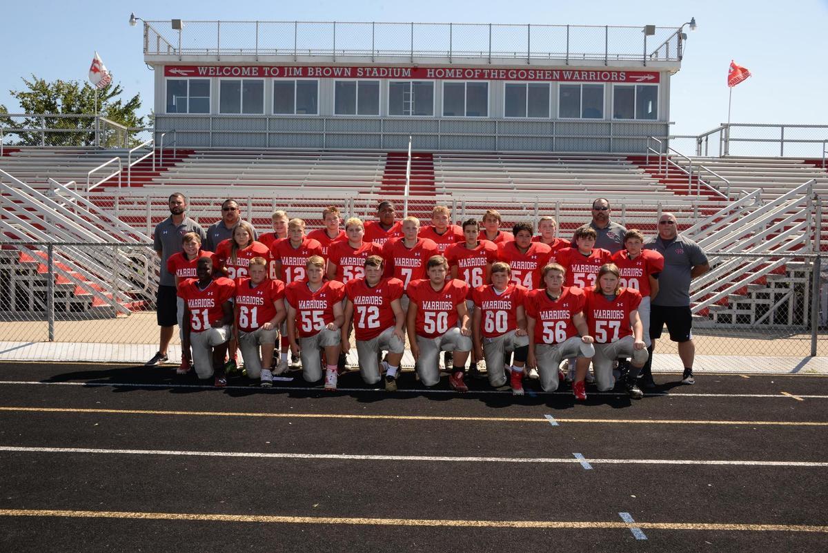 gms grade 7 football team