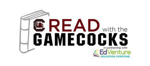 Read With the Gamecocks logo