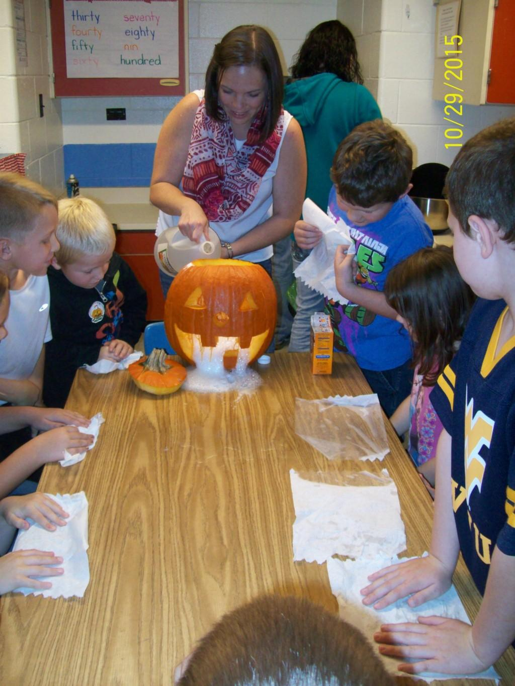 Halloween activities in 2nd Grade
