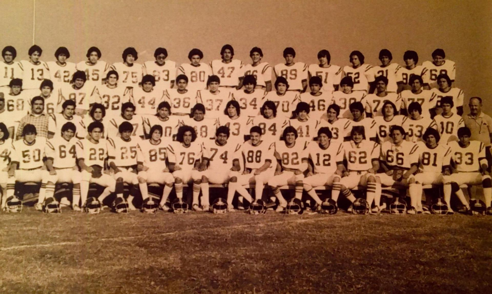 He became head coach of the 'B' Football Team