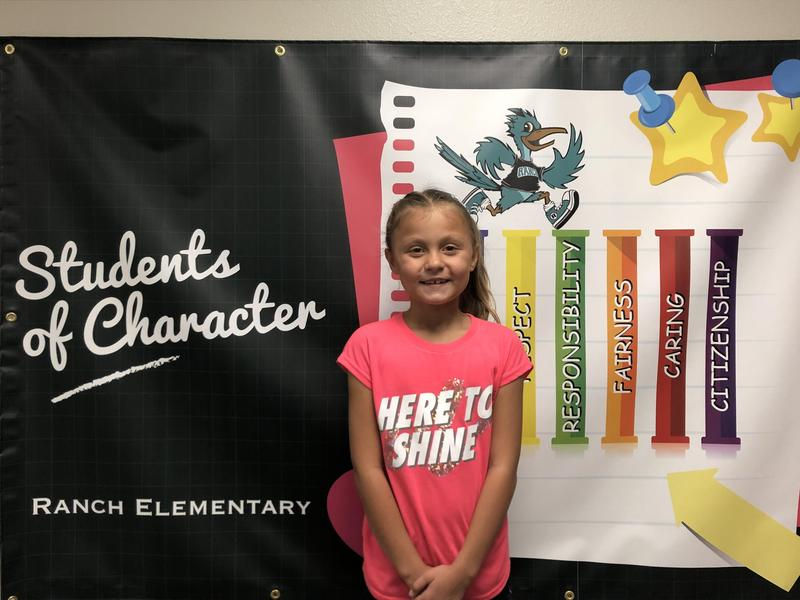 Khloee Hammann Student of the Month