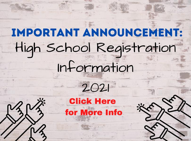High School Registration Info