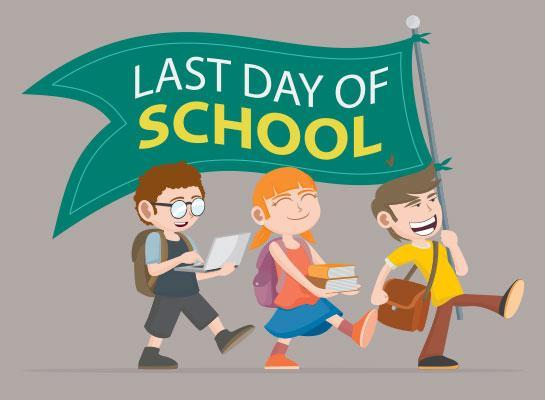 Last Day of School for Elementary Students. Featured Photo