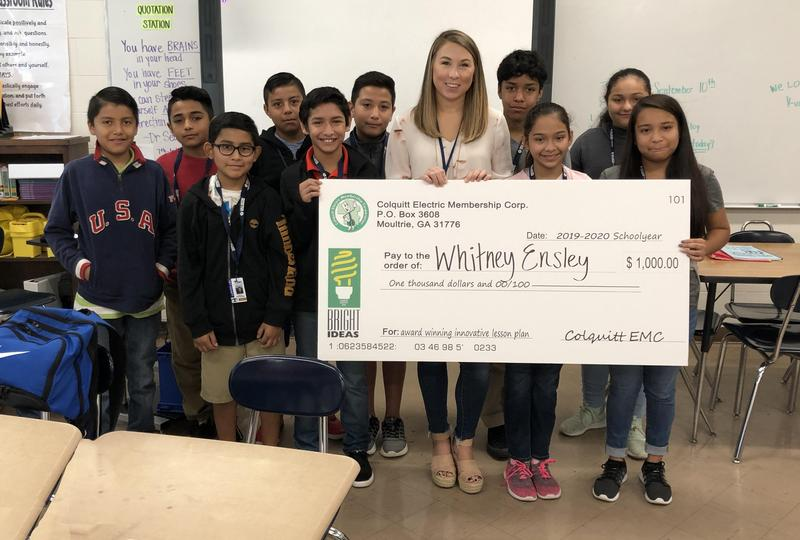 Whitney Ensley wins Bright Ideas Grant Featured Photo