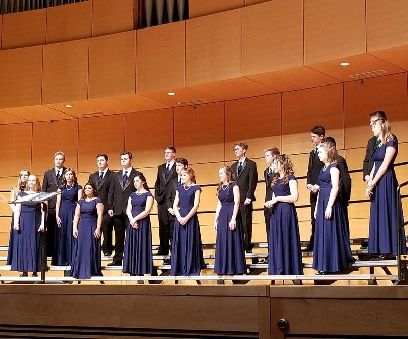 Madrigals earn a PERFECT SCORE at Solo and Ensemble! Featured Photo