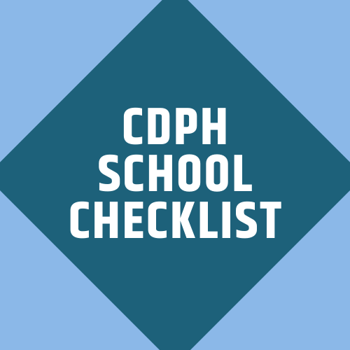 CDPH Checklist
