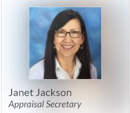 Janet Jackson, Elementary Appraisal Secretary