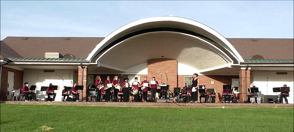 James Hart 6th Grade Band concert and awards