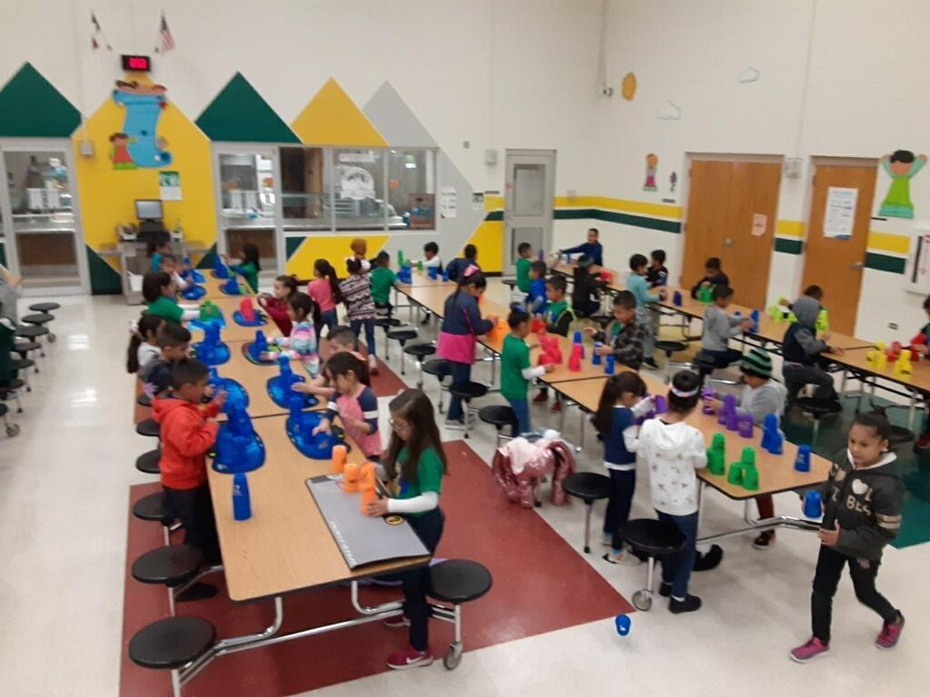 Houston Elementary Cupstacking