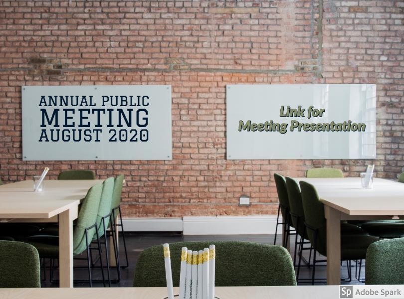Annual Public Meeting Presentation