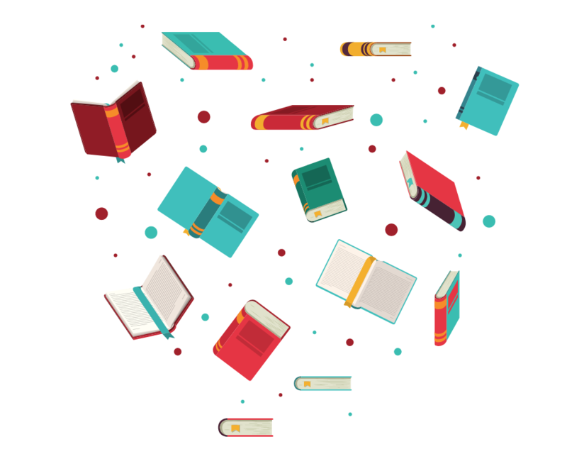 graphic flying books