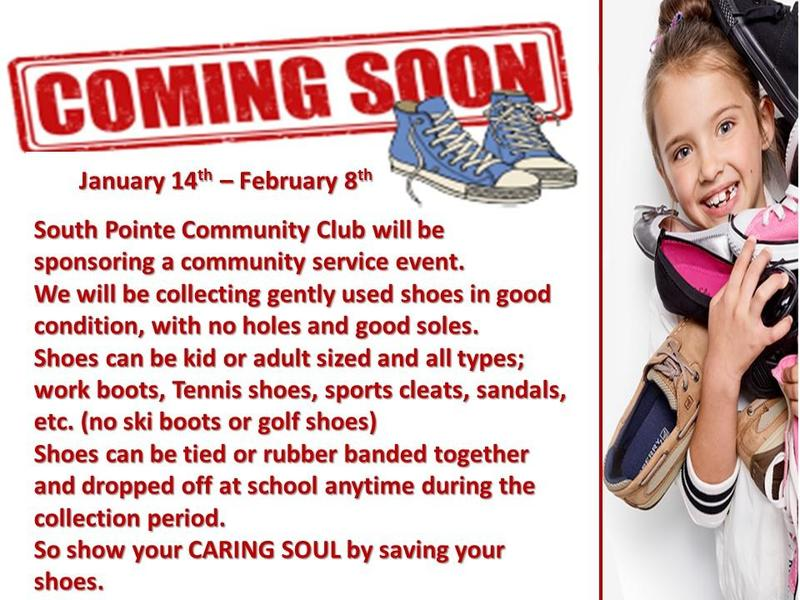 Caring Soles: A Community Club service event  Jan 14th - Feb 8th Featured Photo