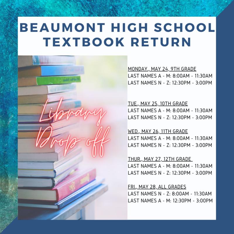 Textbook Return Information Featured Photo