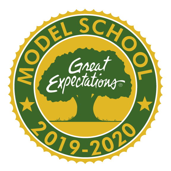Great Expectations logo badge with year