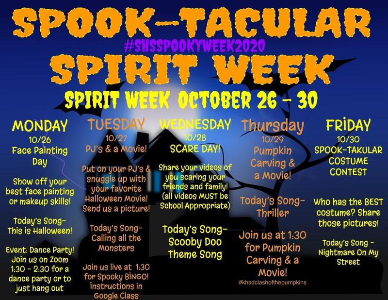 Spook-Tacular Week 2020