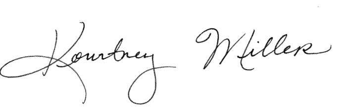 Dr Miller Signature