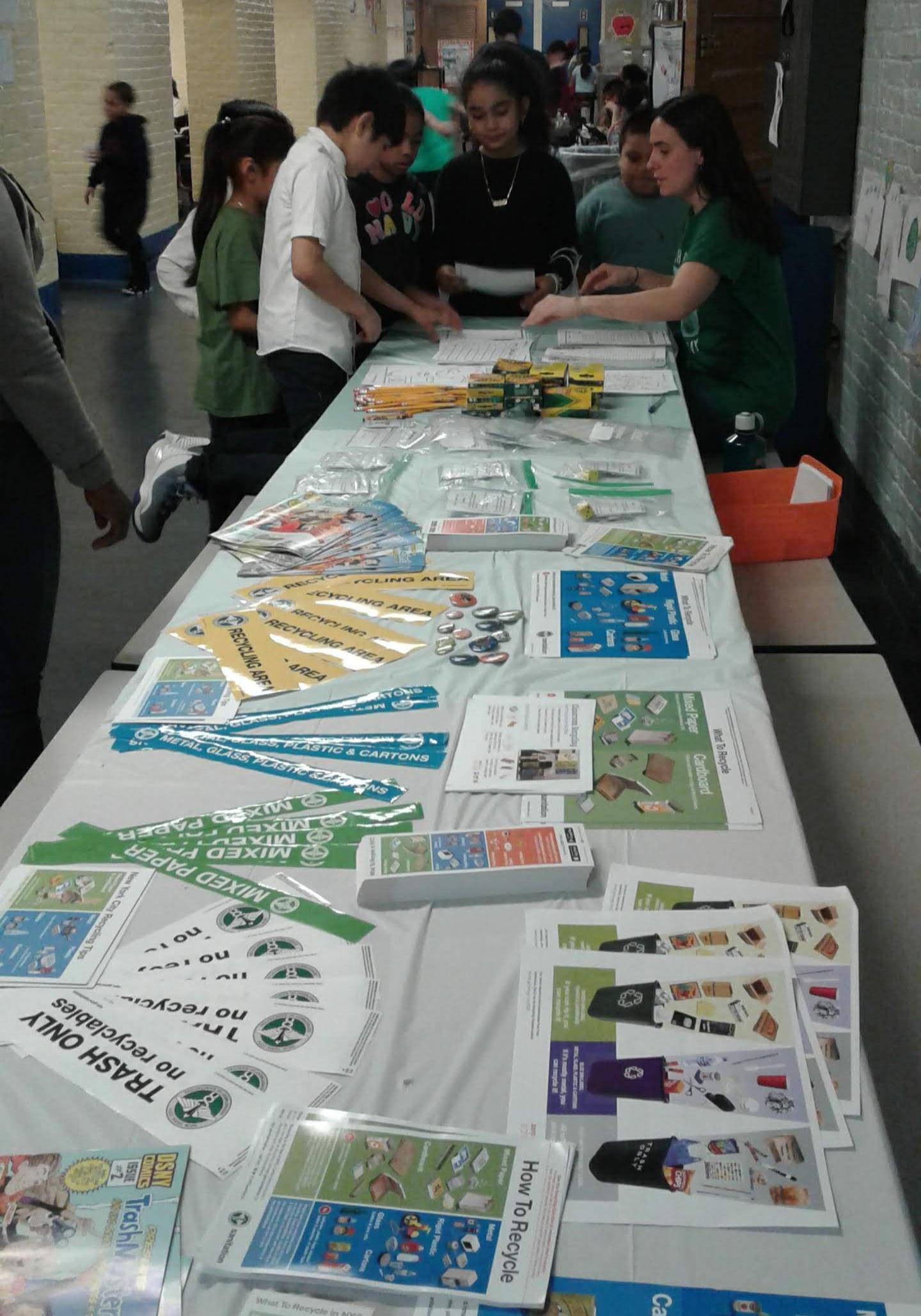 Earth Day Table